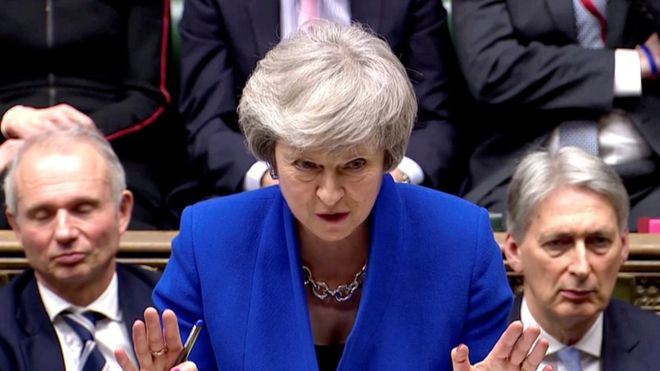 UK's May government wins no-confidence vote by 325 to 306