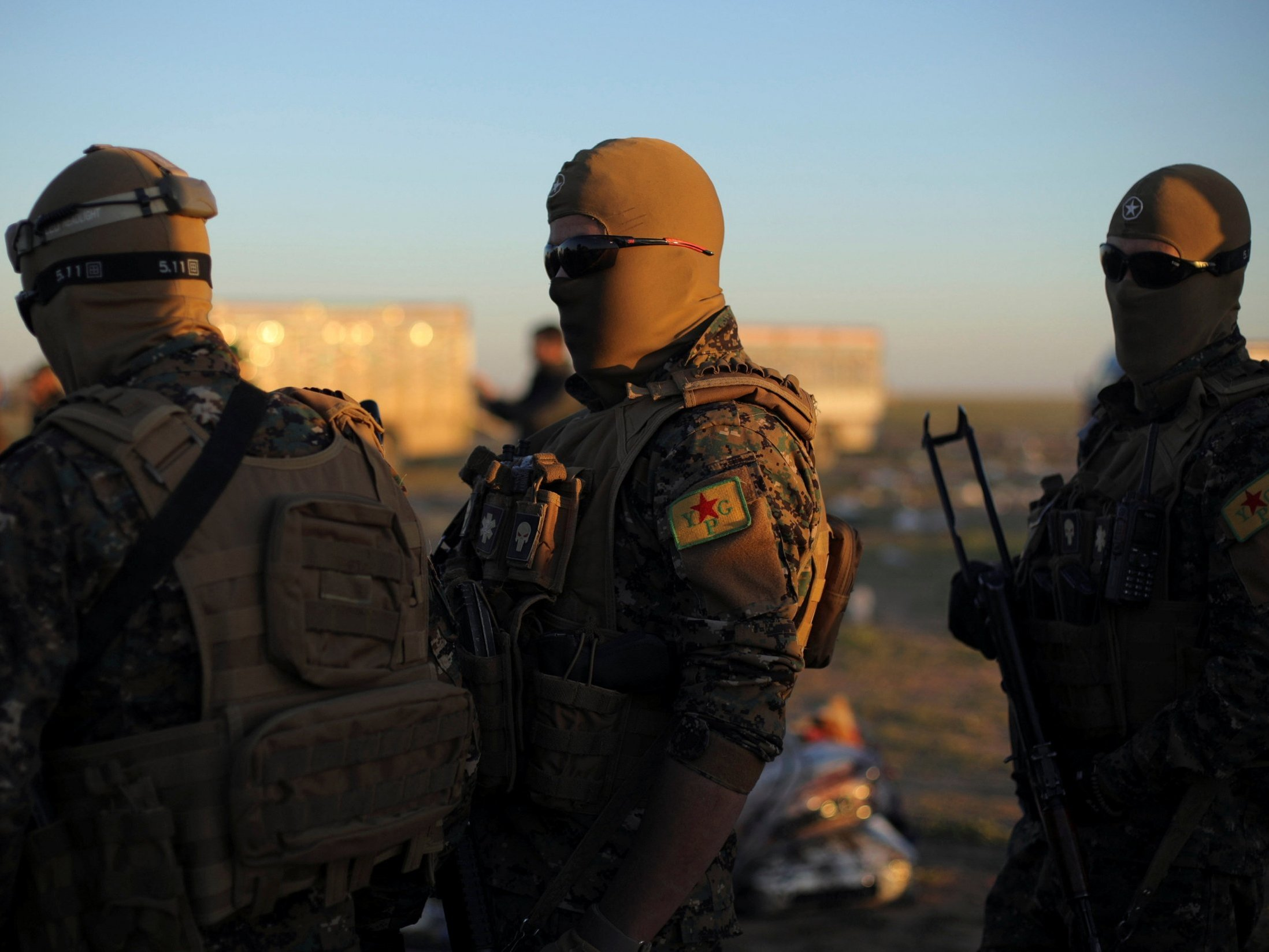 SDF forces target an ISIS enclave as it seeks to permanently